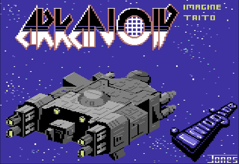 C64 Arkanoid - Auto play version